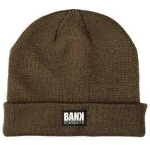 Starbaits čepice bank tradition beanie olive
