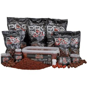 Starbaits pelety pro red one mixed 2 kg