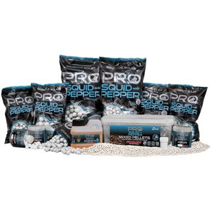 Starbaits pelety pro squid & pepper mixed 2 kg