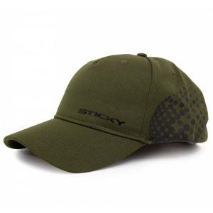 Sticky baits kšiltovka olive airflow cap