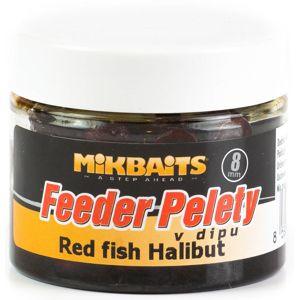 Mikbaits method feeder pellet box 400g švestka halibut