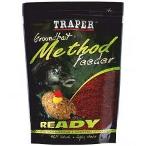 Traper Krmítková Směs Groundbait Method Feeder Ready Med-750 g