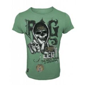 HOTSPOT DESIGN Tričko Skull Rig-Velikost L